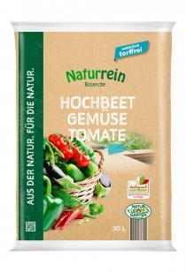 Hochbeet – Gemüse – Tomate-