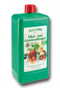 Obst- und Gemüsedünger-